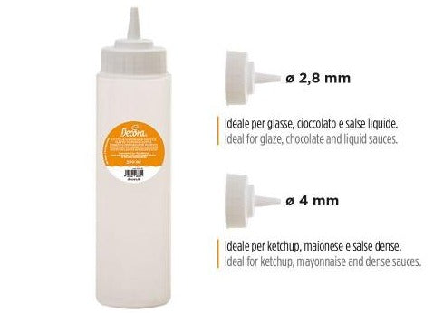 PLASTIC SQUEEZE BOTTLE, 500ML