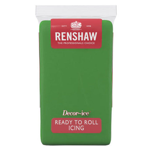 Renshaw Ready To Roll Icing, 500g, Lincoln Green