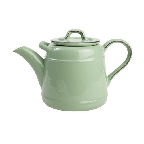 Pride Of Place Ceramic Teapot, Green