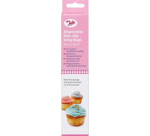Tala Non-Slip Disposable Icing Bags, Pack Of 30