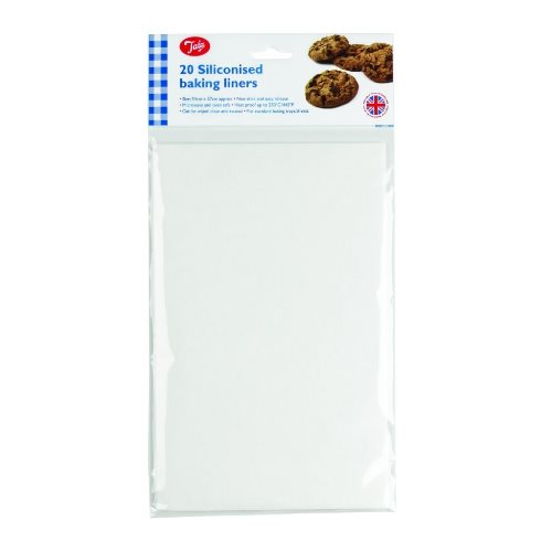 Tala Rectangular Siliconised Baking Liners, Pack Of 20