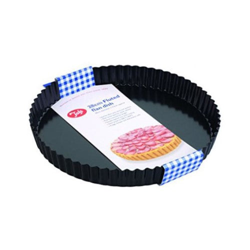 Tala Loose Base Non-Stick Flan/Tart Tin, 25cm/10""