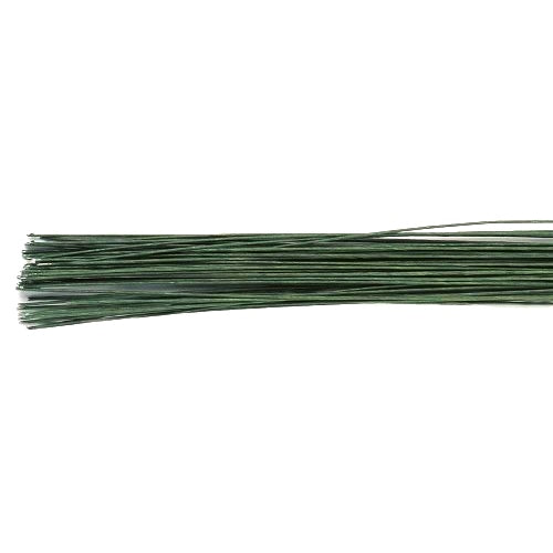 Culpitt Floral Wire, Pack Of 50, 26 Gauge, Green