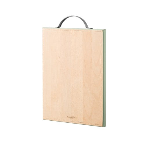 Typhoon Vintage Americana Chopping Board, Medium, Green edge