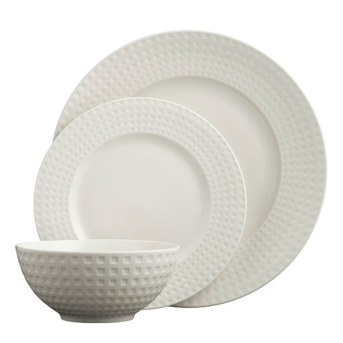 Belleek Living Grafton 12 Piece Dinner Set