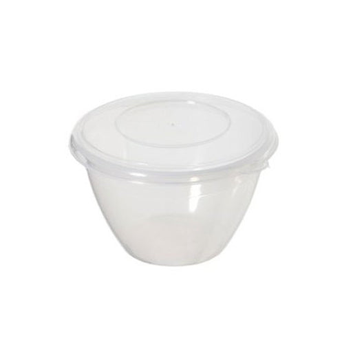 Whitefurze Plastic Pudding Bowl, 1.2 Litre
