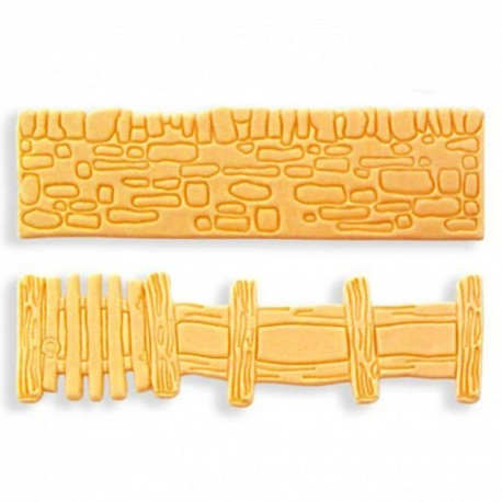 Jem Wall & Gate Mould, Set Of 2