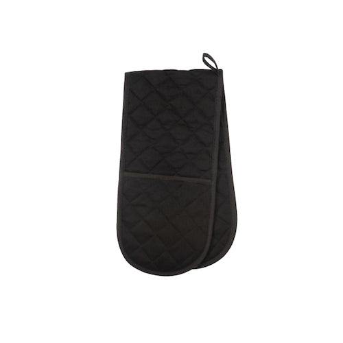 Love Colour Double Oven Glove, Black