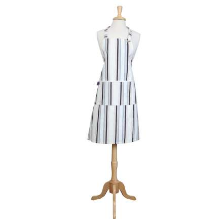 Rushbrookes Cream Stripe Regatta Apron