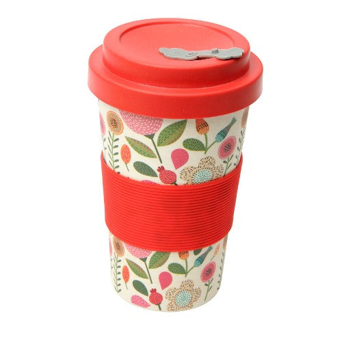 'BamBroo' Drinks Mug, 400ml, Patchwork
