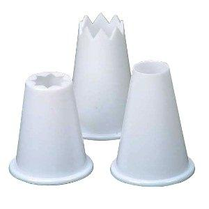 Dexam Food Piping Nozzles, Set Of 3