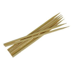 Bamboo Skewers, Pack Of 100, 25cm