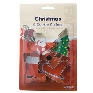 Swift Christmas Cookie & Pastry Cutter Set