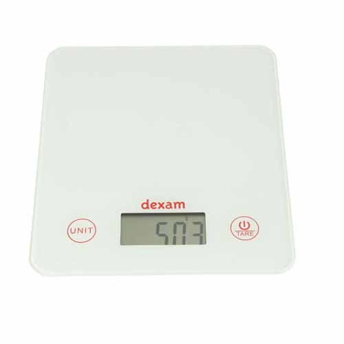 Dexam Digital Scales, White