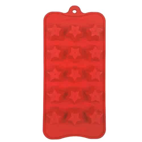 Dexam Star Chocolate Mould, Red