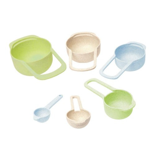 Wheatfibre Measuring Cup & Spoons, Set Of 6