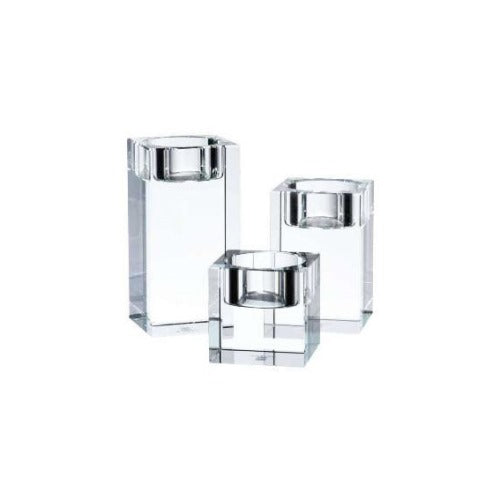 Tipperary Crystal Connoisseur Tealights, Set Of 3
