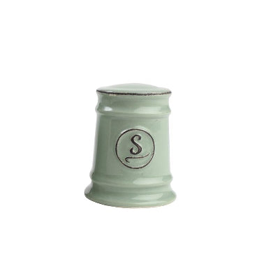 Pride Of Place Ceramic Salt Shaker, Old Green