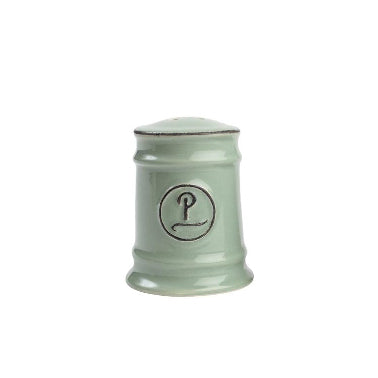 Pride Of Place Ceramic Pepper Shaker, Old Green