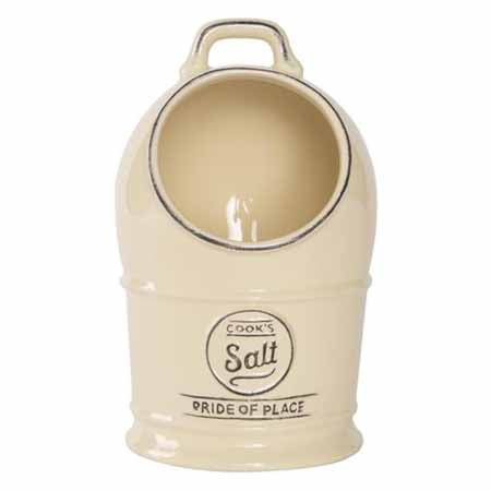 Pride Of Place Salt Jar, Old Cream