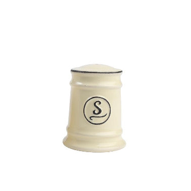 Pride Of Place Ceramic Salt Shaker, Old Cream