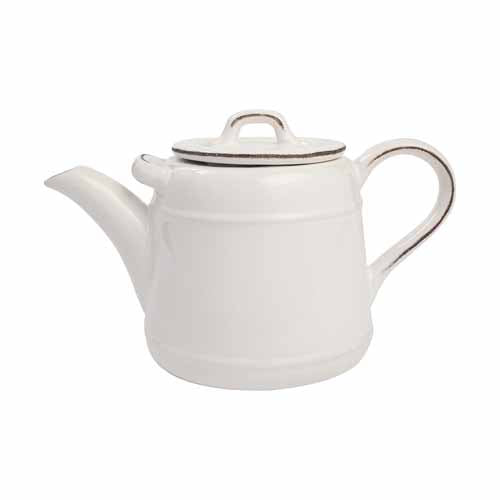 Pride Of Place Ceramic Teapot, White