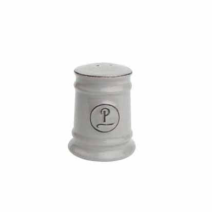 Pride Of Place Ceramic Pepper Shaker, Grey