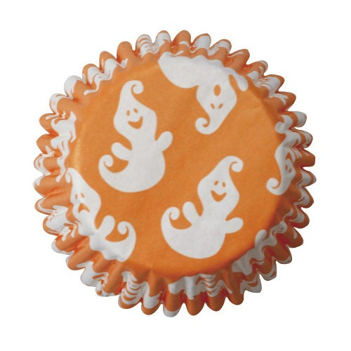 Halloween Ghost Baking Cases, 50mm, Pack Of 54