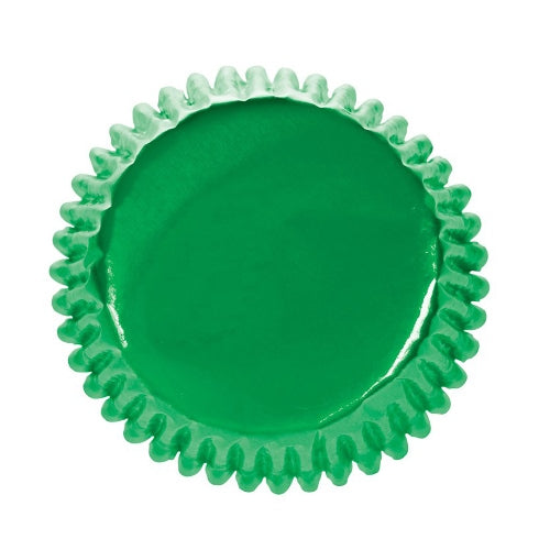 Culpitt Foil Baking Cases, 45 Cases, Green