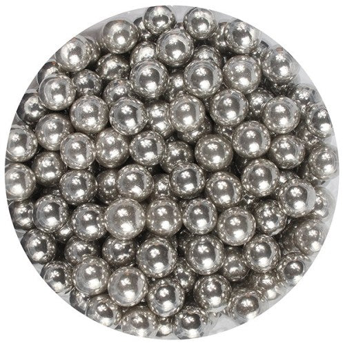 Pearls, 6mm, 100g, Silver