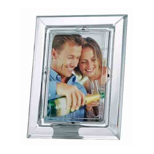 "Galway Crystal Occasions 4"" x 6"" Photo Frame"
