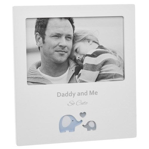 Cut Out Ellile Photo Frame 'Daddy & Me'