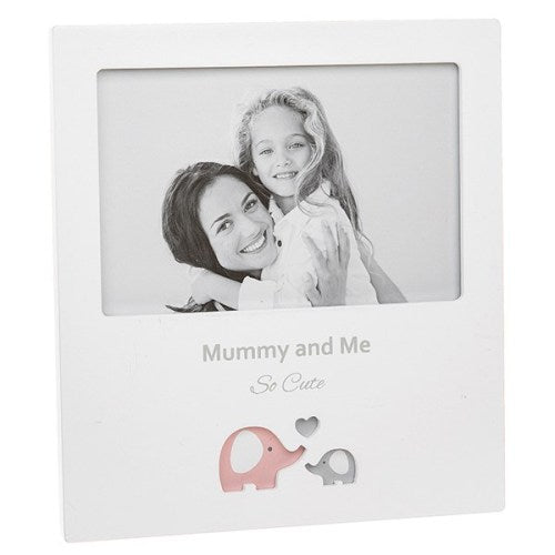 Cut Out Ellile Photo Frame 'Mummy & Me'