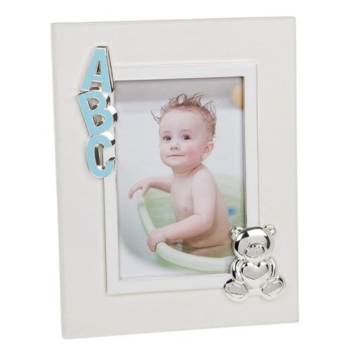 "ABC Baby Frame, 4"" x 6"", Blue"