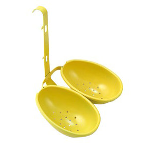 Eddingtons Double Egg Poacher, Yellow