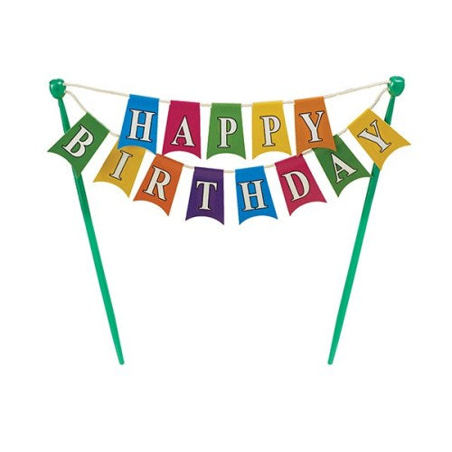'Happy Birthday' Bunting Banner