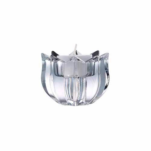 Galway Crystal Tulip Shaped Votive Holder
