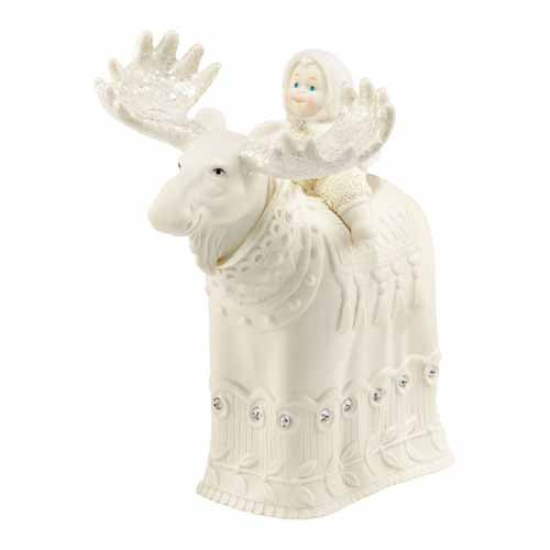 Snowbabies 'The Majestic Moose'