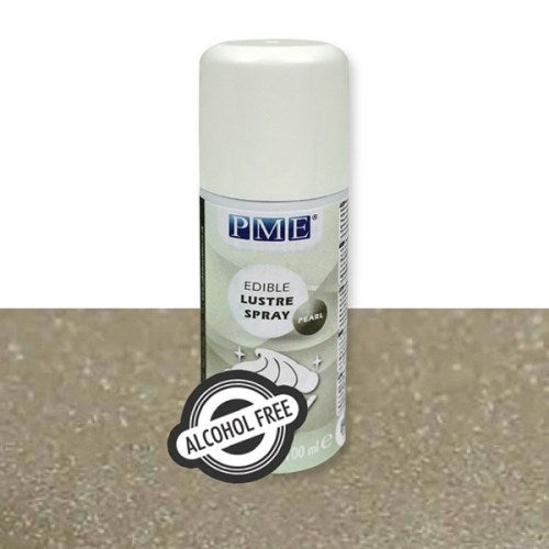 PME Alcohol-Free Edible Lustre Spray, Pearl