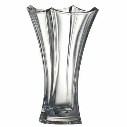 Galway Crystal Dune Waisted Vase, 14""