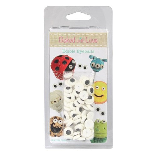 Baked With Love Edible Eyeballs, Pack Of 50