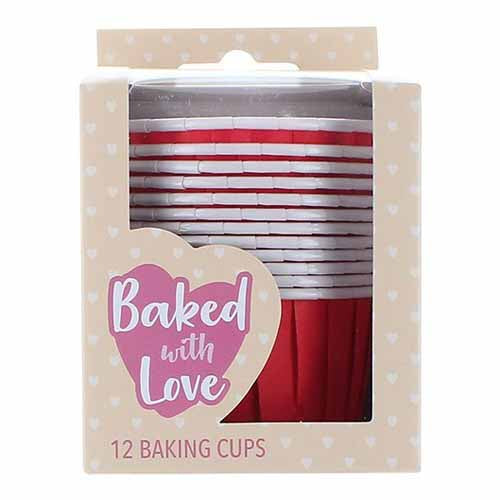Baking Cups, 50mm, Red