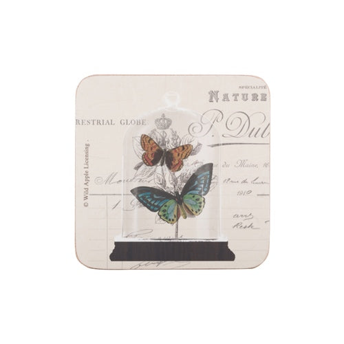Nature Under Glass Coasters, Set Of 6