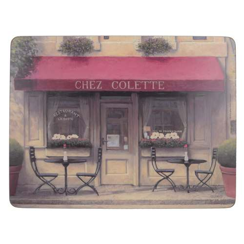 'Chez Colette' Placemats, Set Of 6