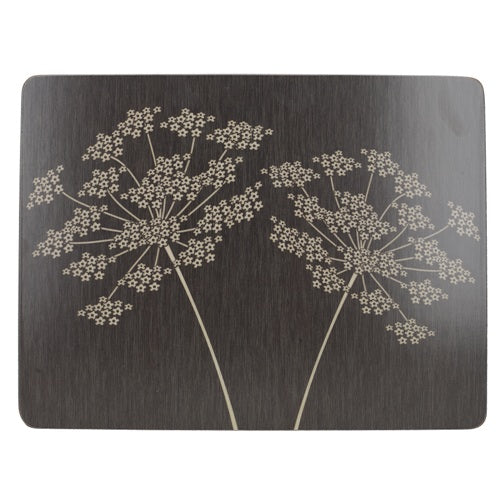 Silhouette Premium Placemats, Set Of 6