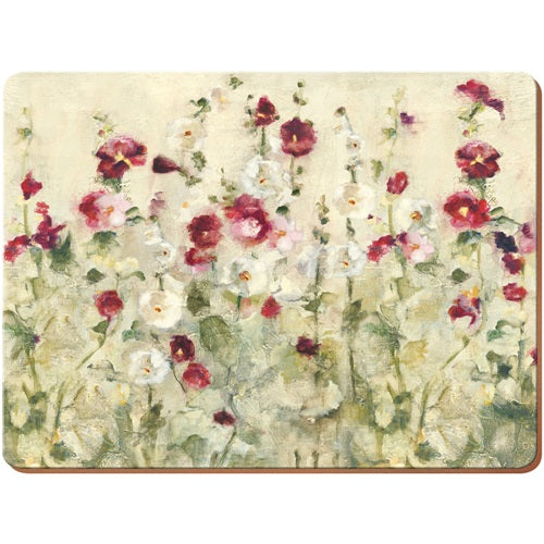 'Wild Field Poppies' Placemats, Set Of 6