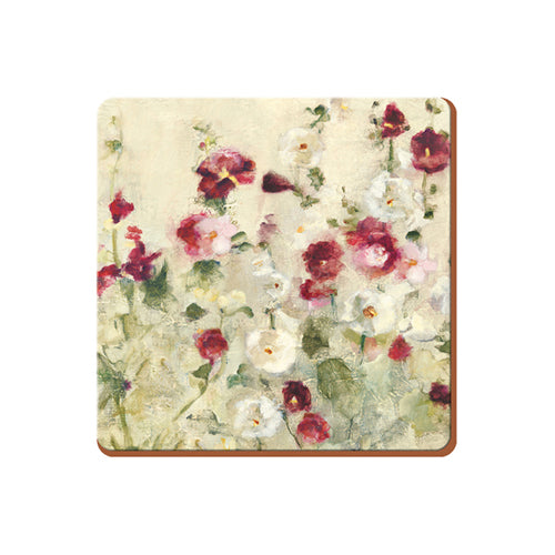 'Wild Field Poppies' Coasters, Set Of 6
