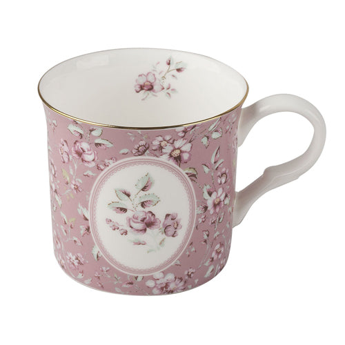 Katie Alice Ditsy Floral Palace Mug, Pink
