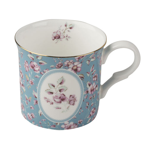 Katie Alice Ditsy Floral Palace Mug, Teal
