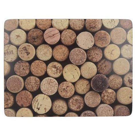 Creative Tops Cork Design Premium Placemats, Set Of 6